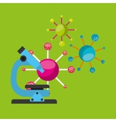 molecule particle laboratory scientific vector image