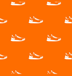 sneaker pattern seamless vector image vector image