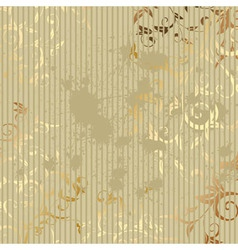vintage golden background vector image vector image