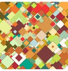 Abstract colored background square design vector
