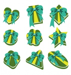 present box's vector image vector image