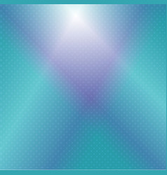 turquoise blue glowing background vector image