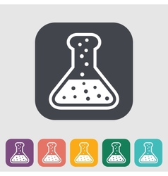 Chemisty flat icon vector
