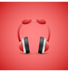 Headphones  graphic concept vector