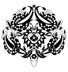 Ottoman motifs two vector