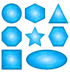 modern shapes vector image