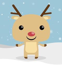 Reindeer christmas vector