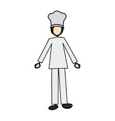 chef cartoon icon image vector image