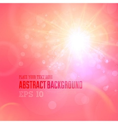 Soft coloured pink abstract background vector