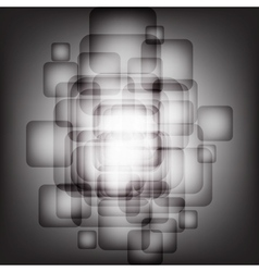 Abstract background with transparent squares Eps vector image