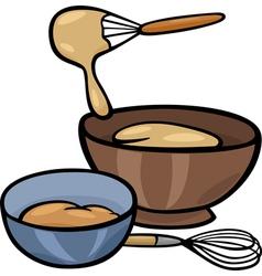 Dough knead clip art vector