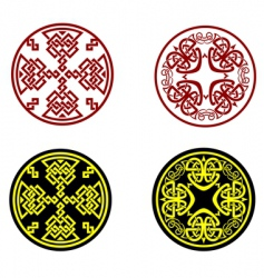 greek ornaments vector image vector image