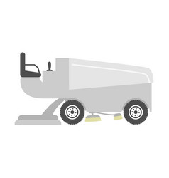 ice resurfacer vector image vector image