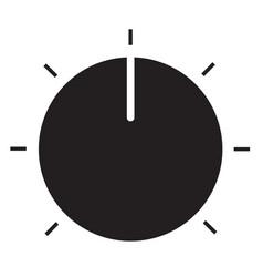 volume control icon on white background volume vector image