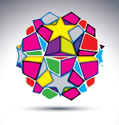 3d orb kaleidoscope vector