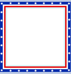 frame the background in the style of the american vector image vector image