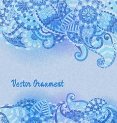hand drawn vintage card vector image vector image