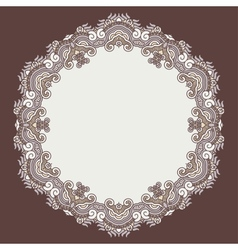 Ornamental ethnicity pattern vector image
