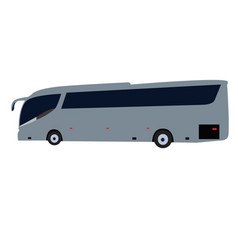 Side view bus vector