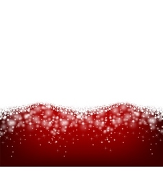 Starry background for Christmas design vector image
