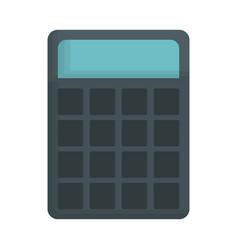 Calculator device icon vector