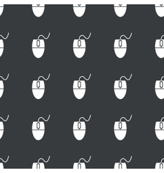 Straight black mouse controller pattern vector