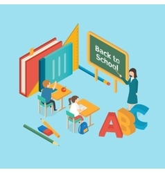 Education concept back to school vector