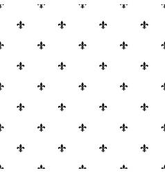 Fleur de lis seamless pattern background vector
