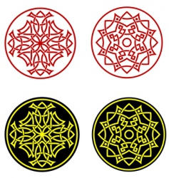greek ornaments vector image vector image