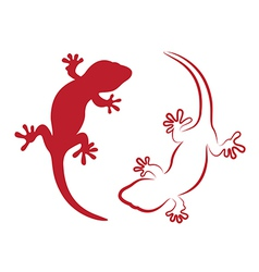 Image of an gecko vector
