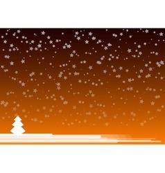orange background vector image vector image
