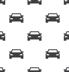 sport car seamless pattern vector image vector image