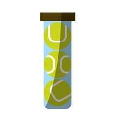 Tennis accessories icon image vector
