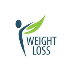 Weight loss logo vector