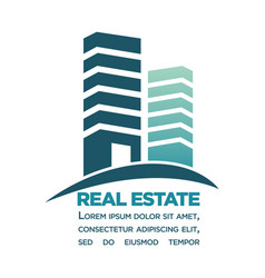 Real estate purchase in city center commercial vector