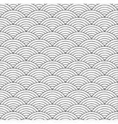 Seamless fish scale vector