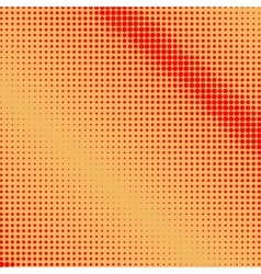 Red dots on orange background vector
