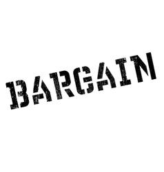 Bargain stamp rubber grunge vector