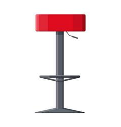 barstool chair pub club bar trendy equipment vector image