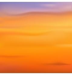Blurred backgrounds Sunset sunrise vector image vector image