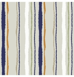 Seamless strip pattern Vertical lines with torn vector image