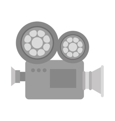 Motion film video camera vector