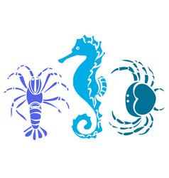 Sea animal 2 vector