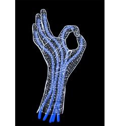 robotics vector image