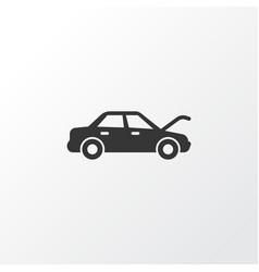auto hood icon symbol premium quality isolated vector image