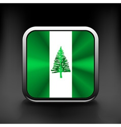 Flag of the country norfolk island vector image vector image