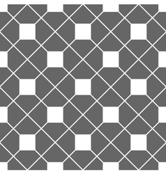 Tile pattern with grey and white background vector image vector image