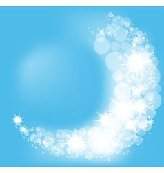 abstract winter background vector image vector image