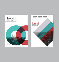 Layout design2 vector