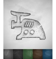 mincer icon vector image